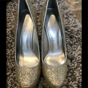 Sparkle Aldo shoes, size 6 (36)